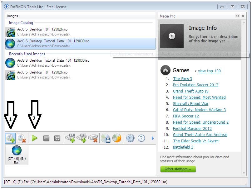 ArcGisDesktopTutorialData < Info < Foswiki