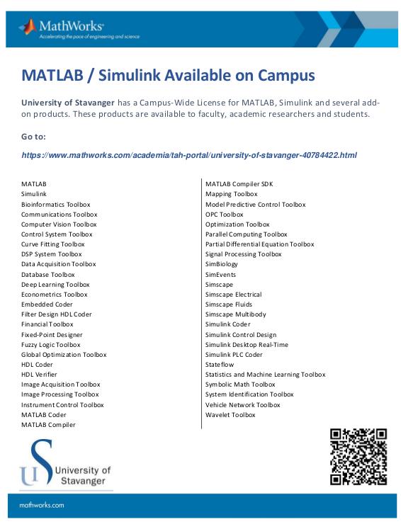 Matlab < Info < Foswiki